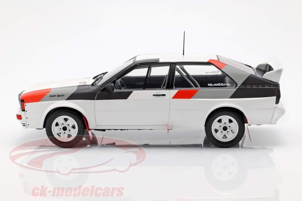Audi Quattro groupe B Rallye 1982 blanc 1:18 Ixo