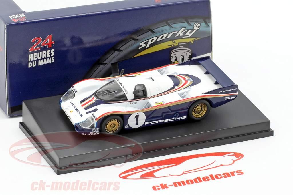 Porsche 956 #1 vincitore 24h LeMans 1982 Ickx, Bell 1:64 Spark