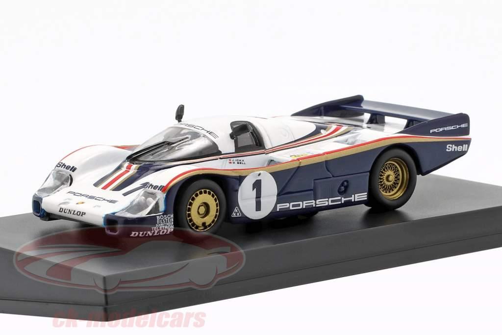 Porsche 956 #1 ganador 24h LeMans 1982 Ickx, Bell 1:64 Spark