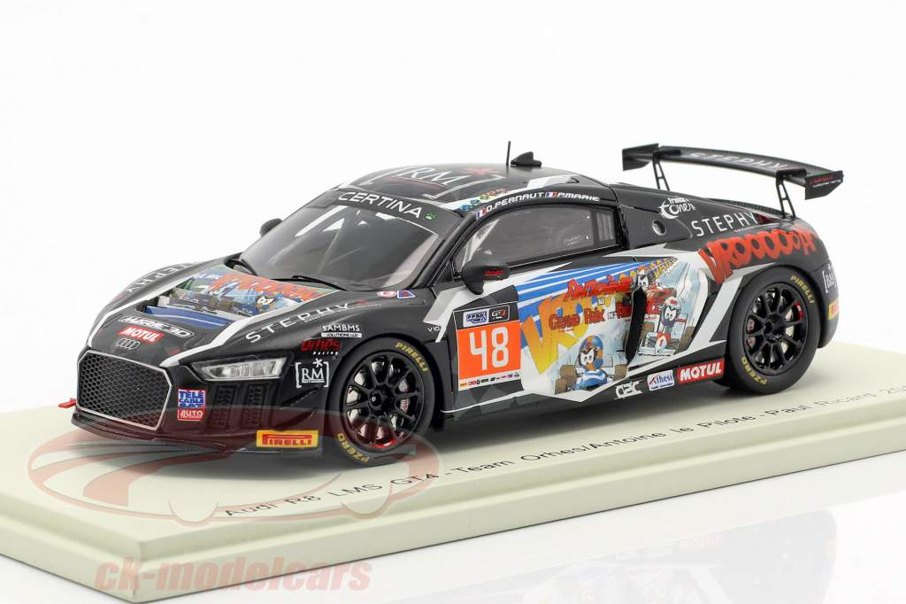 Audi R8 LMS GT4 #48 Frans GT4 Cup Paul Ricard 2018 Pernaut, Marie 1:43 Spark