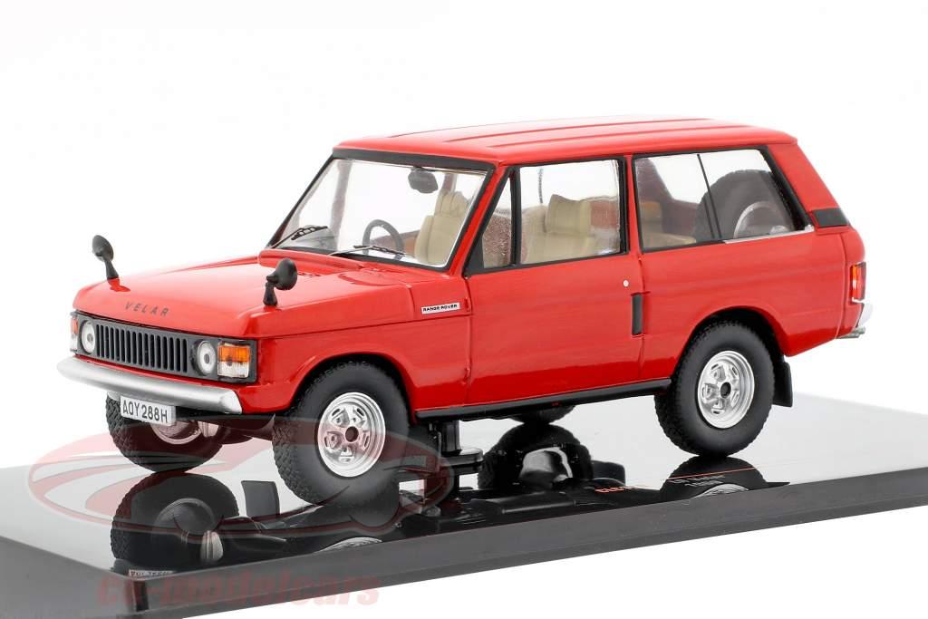 Land Rover Velar ano de construção 1969 vermelho 1:43 Ixo