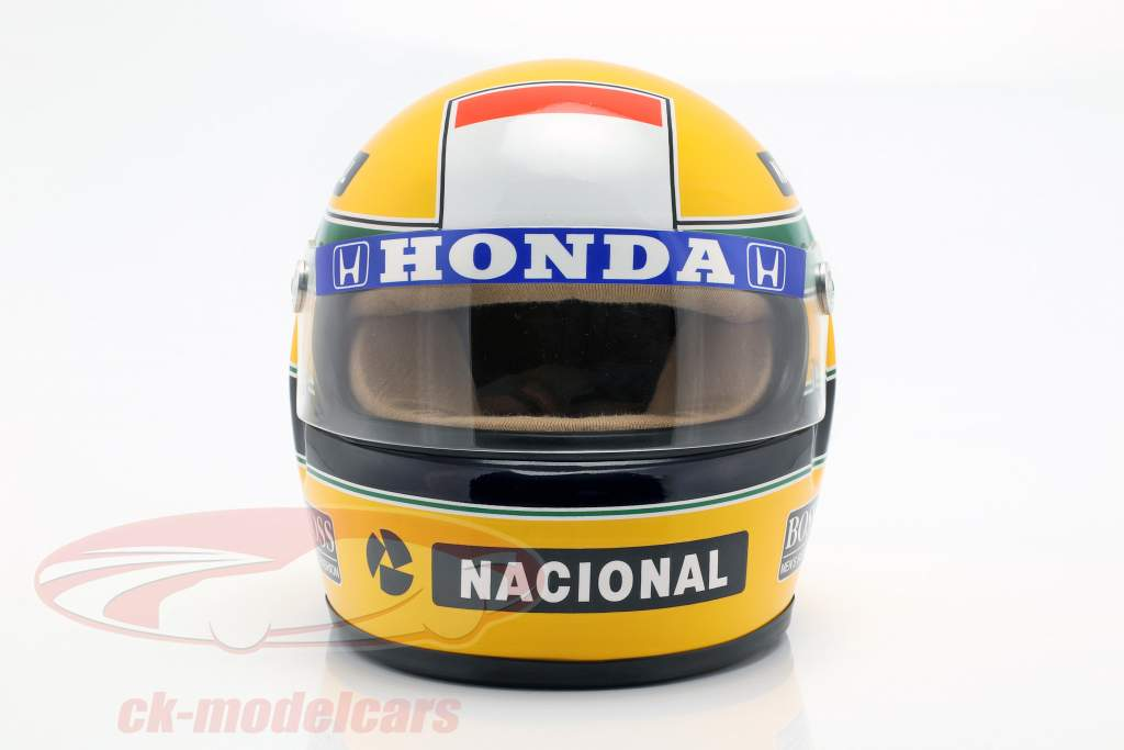Ayrton Senna McLaren MP4/4 #12 World Champion formula 1 1988 helmet 1:2