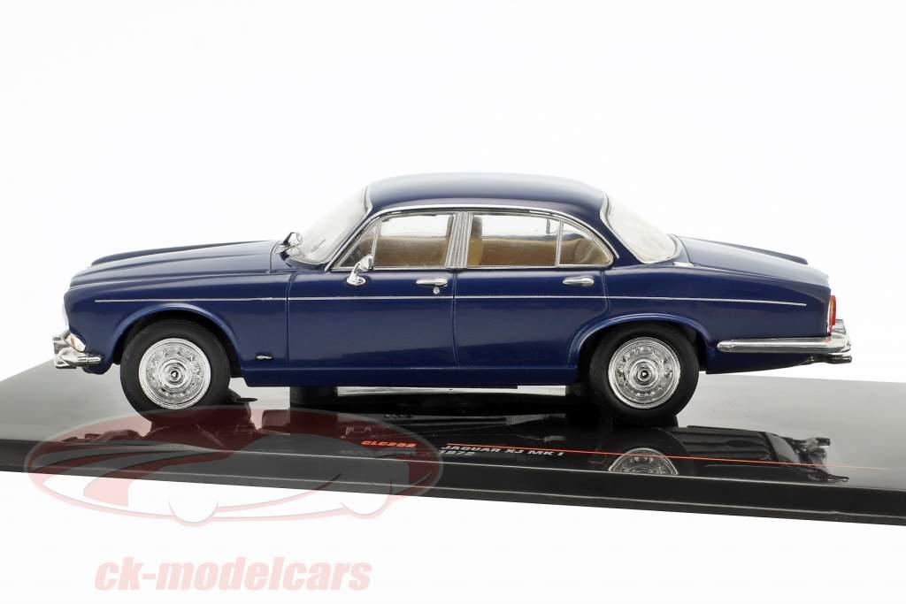 Jaguar XJ MK I RHD année de construction 1972 bleu foncé 1:43 Ixo
