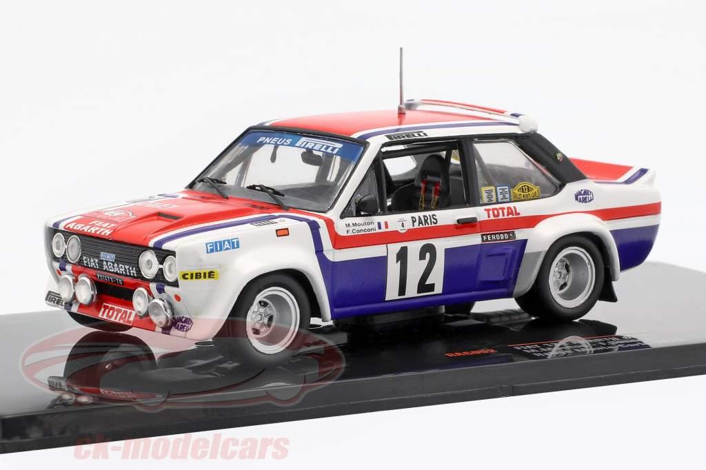 Fiat 131 Abarth #12 7e Rallye Monte Carlo 1979 Mouton, Conconi 1:43 Ixo