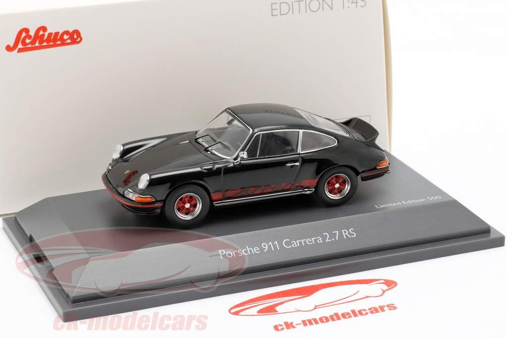 Porsche 911 Carrera 2.7 RS anno di costruzione 1973 nero 1:43 Schuco