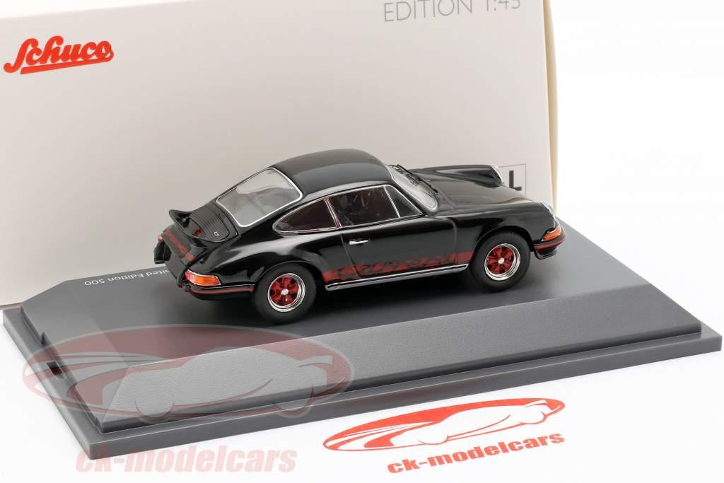 Porsche 911 Carrera 2.7 RS ano de construção 1973 preto 1:43 Schuco