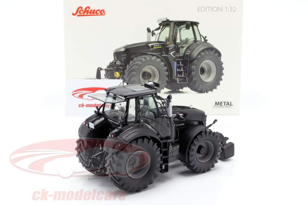 Deutz-Fahr 9340 TTV Warrior Traktor schwarz 1:32 Schuco