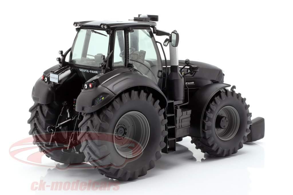 Deutz-Fahr 9340 TTV Warrior trator preto 1:32 Schuco