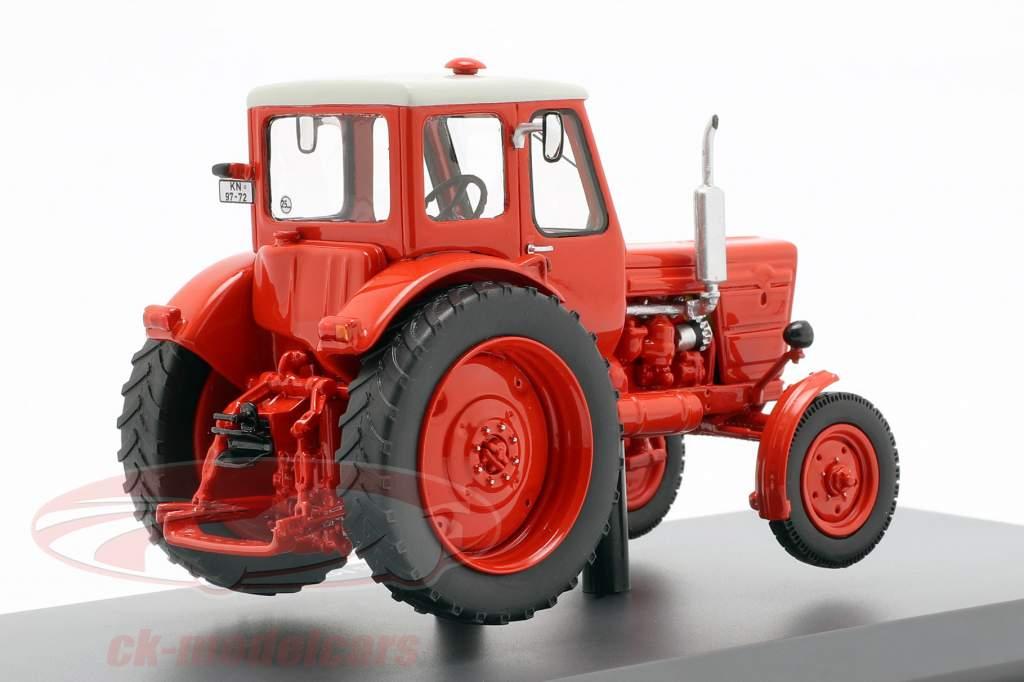 Belarus MTS-50 trator vermelho 1:43 Schuco