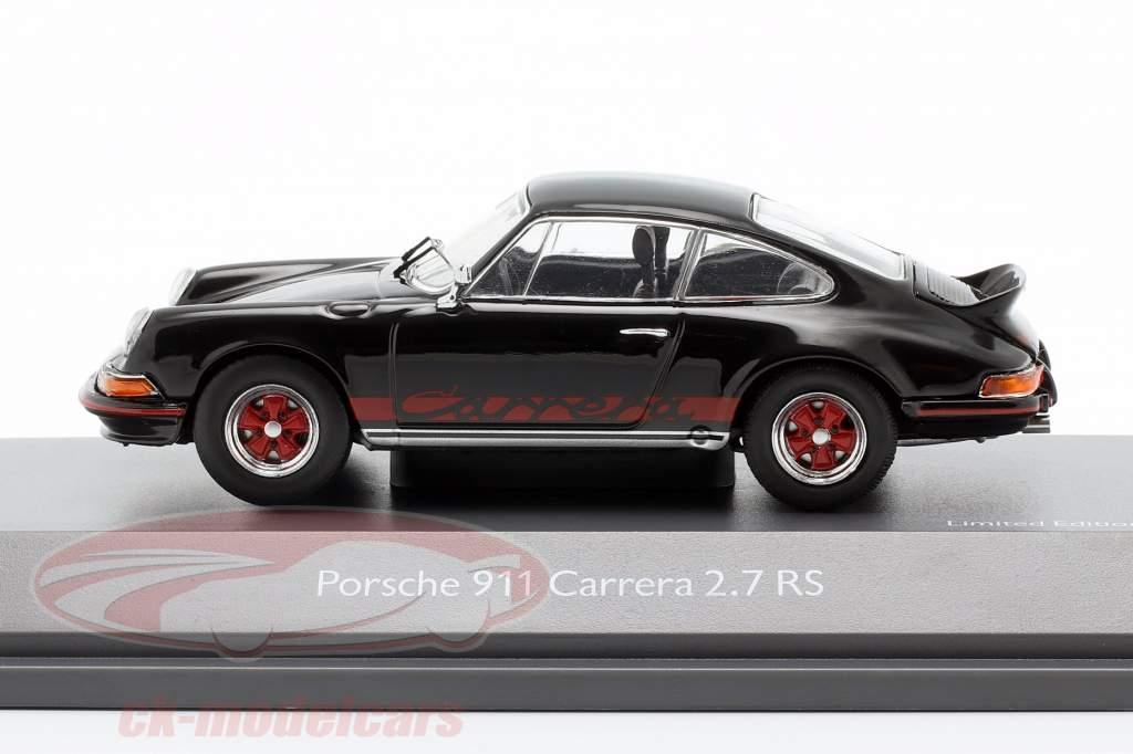 Porsche 911 Carrera 2.7 RS Bouwjaar 1973 zwart 1:43 Schuco