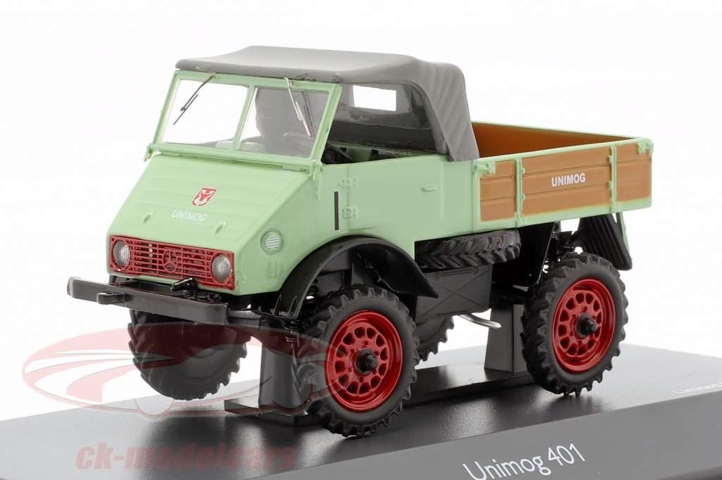 Mercedes-Benz Unimog 401 luminoso verde 1:43 Schuco