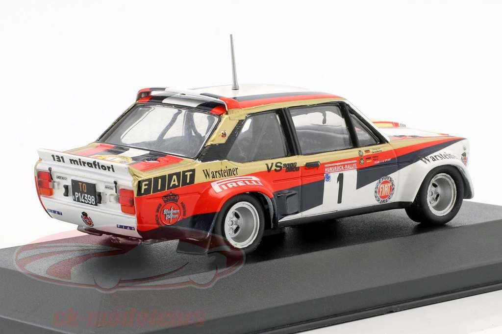 Fiat 131 Abarth #1 Winner Hunsrück Rallye 1980 Röhrl, Geistdörfer 1:43 CMR