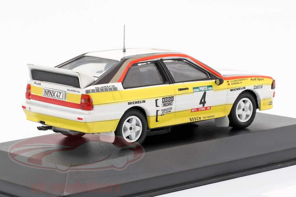 Audi Sport quattro A2 #4 Rallye Portugal 1984 Röhrl, Geistdörfer 1:43 CMR