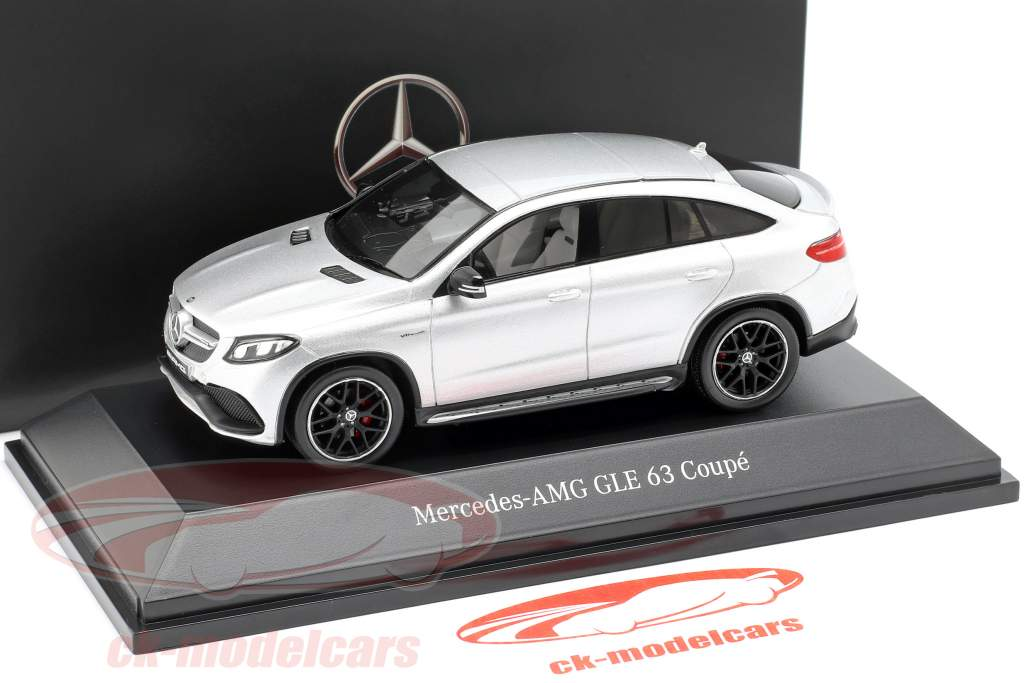 Mercedes-Benz AMG GLE 63 coupe (C292) iridio plata 1:43 Spark