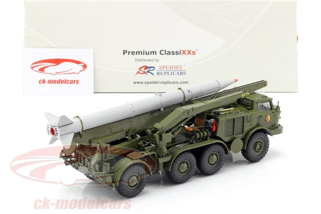 ZIL 135 (BAZ 135) NVA vehículo de transporte de misiles oliva / gris 1:43 PremiumClassiXXs