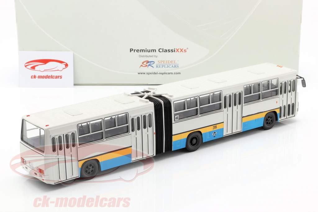 Ikarus 280 CVAG autobus Chemnitz grigio chiaro 1:43 PremiumClassiXXs