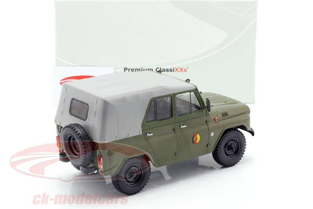 UAZ 469 NVA oliva / cinza claro 1:18 PremiumClassiXXs