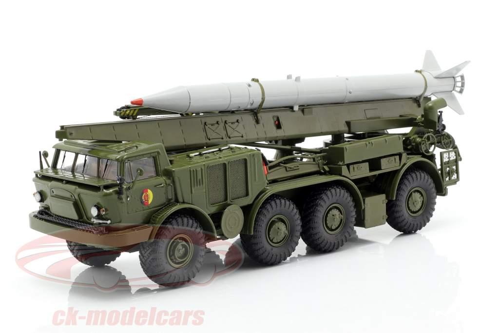 ZIL 135 (BAZ 135) NVA køretøj missil transport oliven / grå 1:43 PremiumClassiXXs