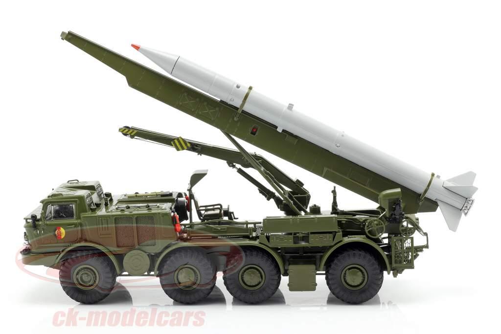 ZIL 135 (BAZ 135) NVA missile transport vehicle olive green / gray 1:43 PremiumClassiXXs