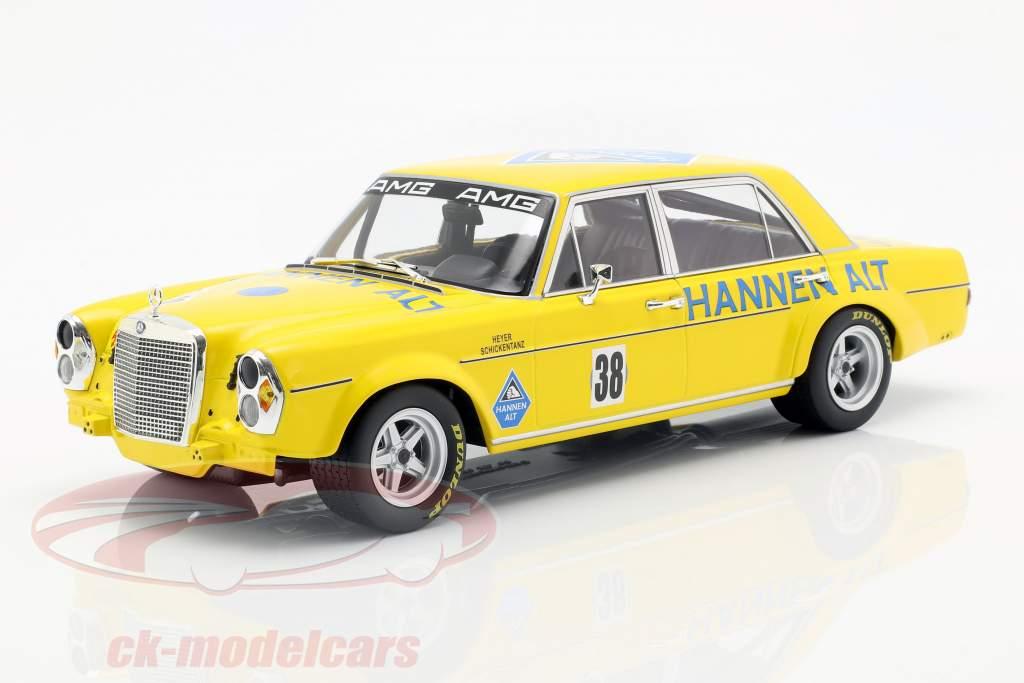 Mercedes-Benz 300 SEL 6.8 #38 final of season Hockenheim 1971 Heyer 1:18 Minichamps