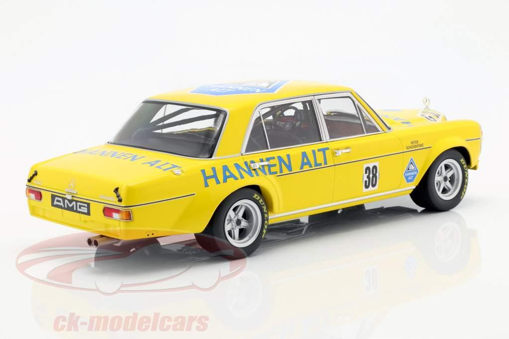 Mercedes-Benz 300 SEL 6.8 #38 sæsonfinale Hockenheim 1971 Heyer 1:18 Minichamps