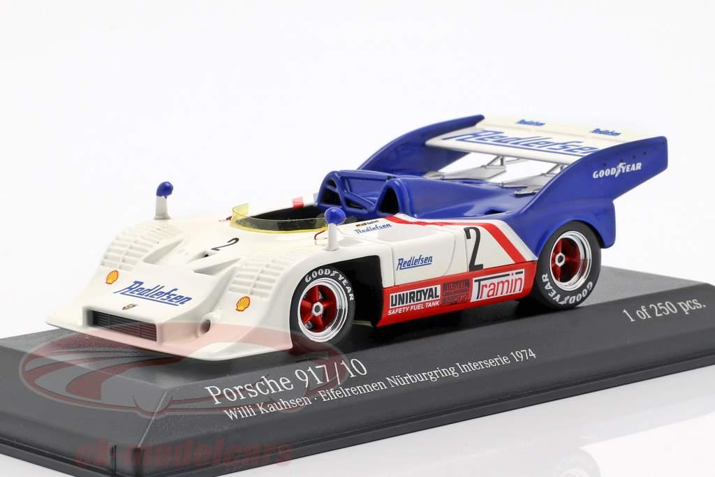 Porsche 917/10 #2 Eifelrennen Nürburgring Interserie 1974 Kauhsen 1:43 Minichamps