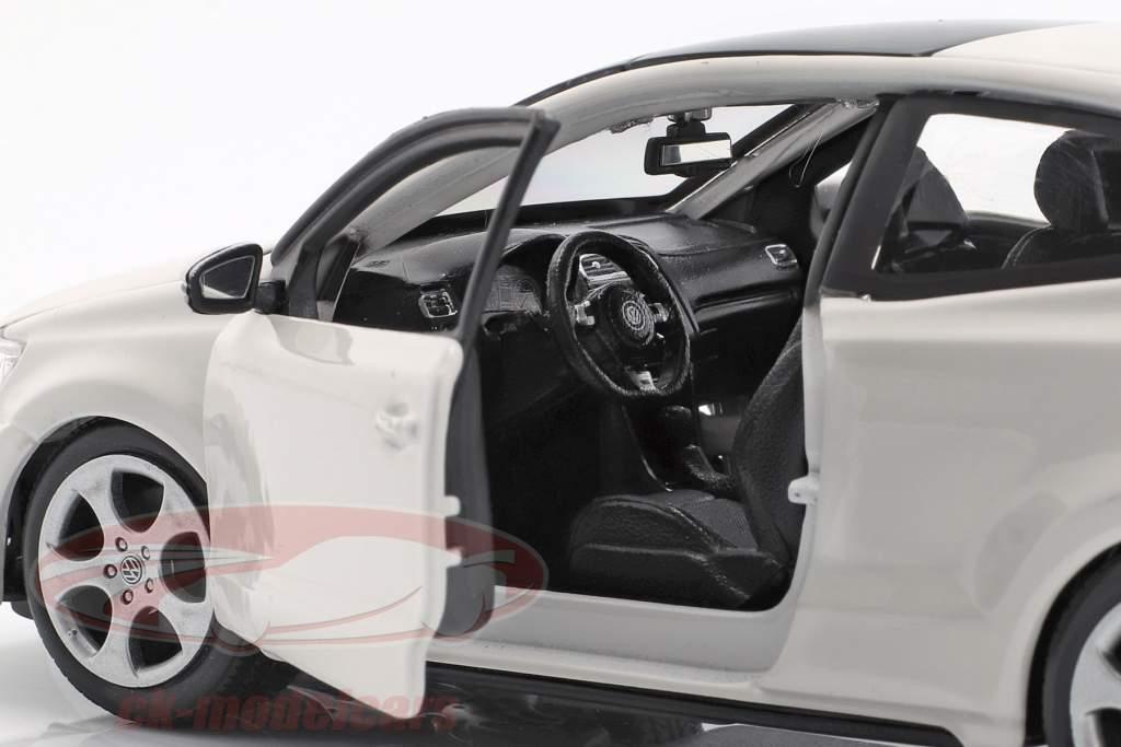 Volkswagen VW Polo MK5 GTI bianco 1:24 Bburago