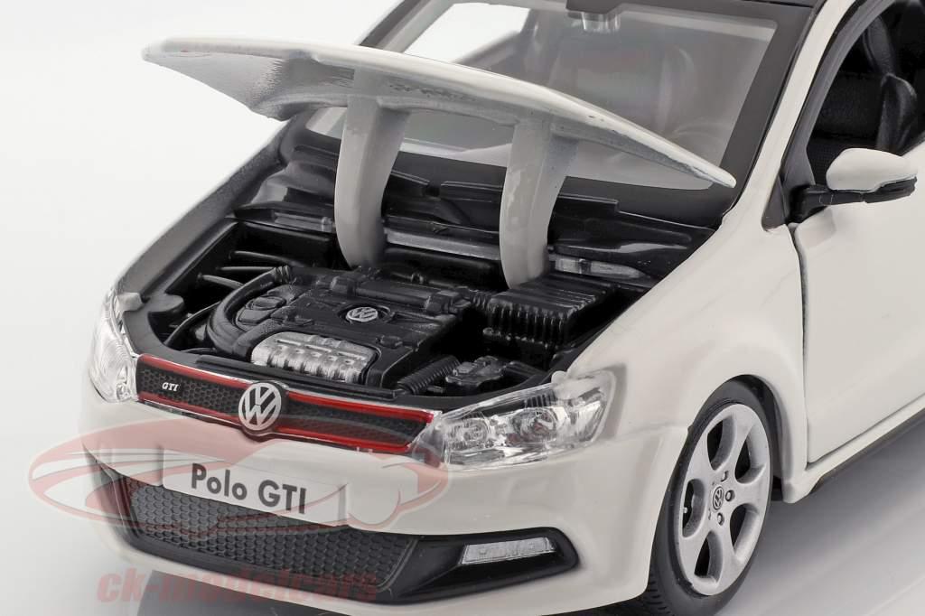 Volkswagen VW Polo MK5 GTI weiß 1:24 Bburago