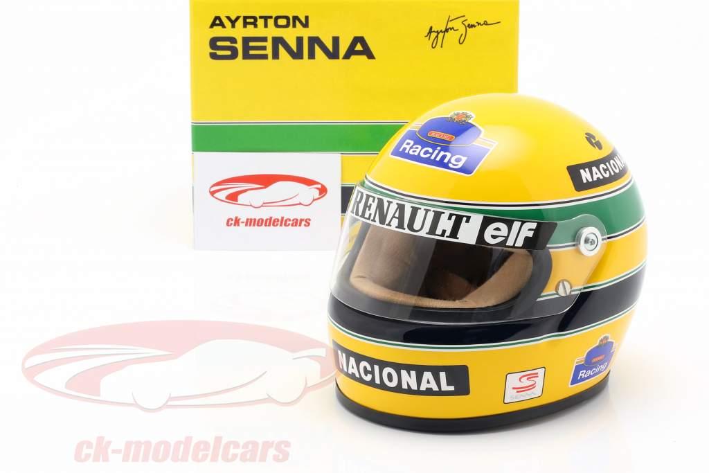 Ayrton Senna Williams FW16 #2 formel 1 1994 hjelm 1:2