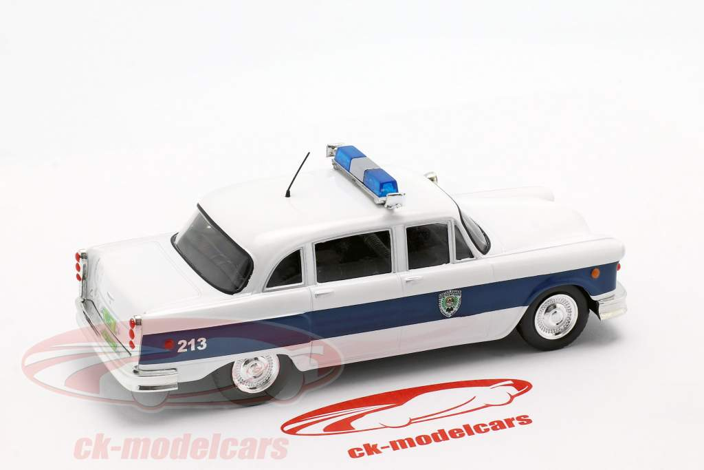 Checker Marathon Police New Hampshire bianco / blu scuro 1:43 Altaya