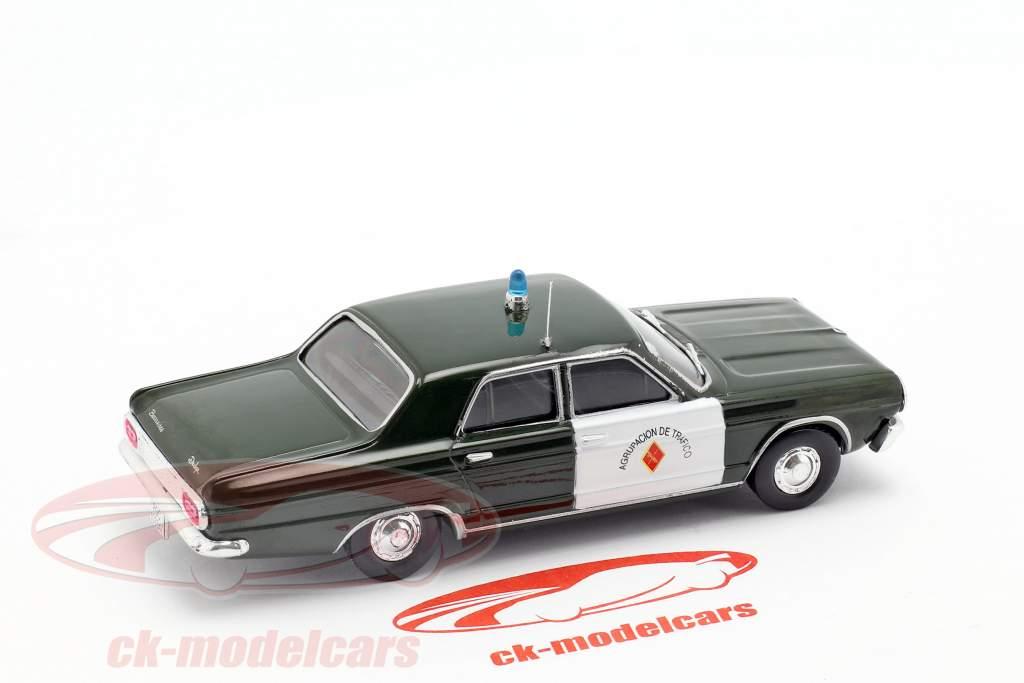Dodge Dart police dark green / white in Blister 1:43 Altaya