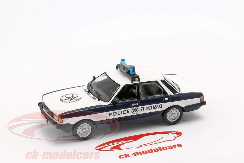 Ford Cortina MKV política azul oscuro / blanco 1:43 Altaya