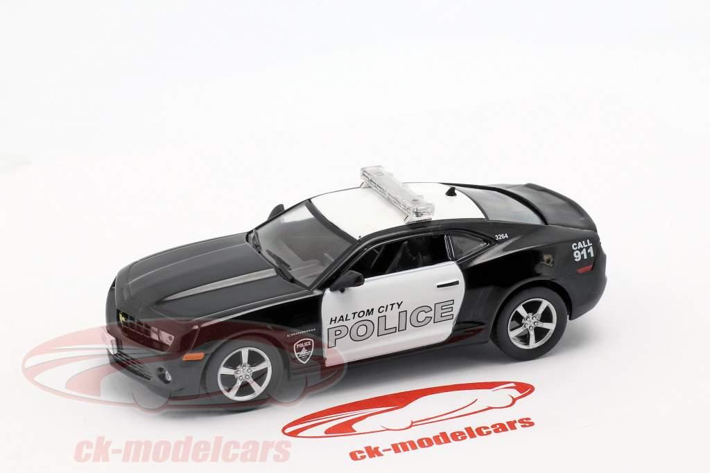Chevrolet Camaro SS Haltom City política preto / branco em bolha 1:43 Altaya