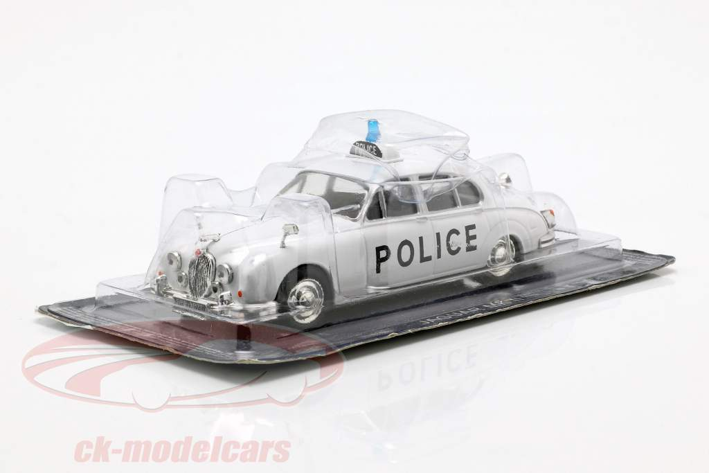 Jaguar MK II policy white in Blister 1:43 Altaya