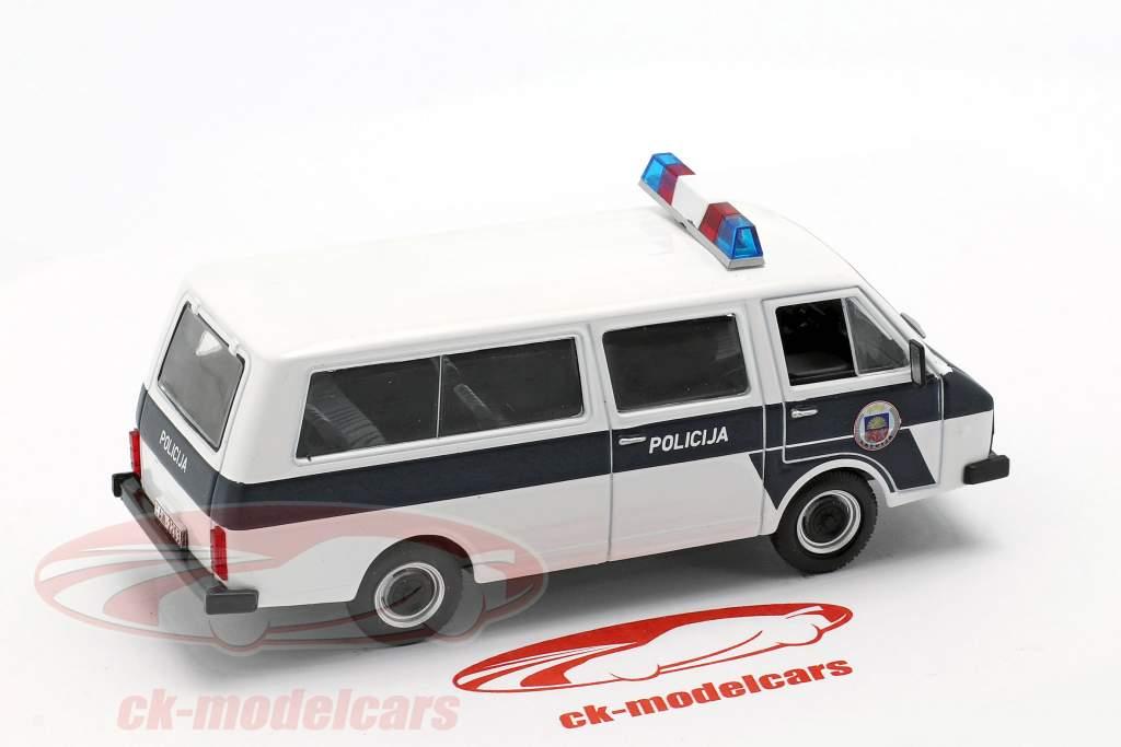RAF-22038 Policija blanco / azul 1:43 Altaya
