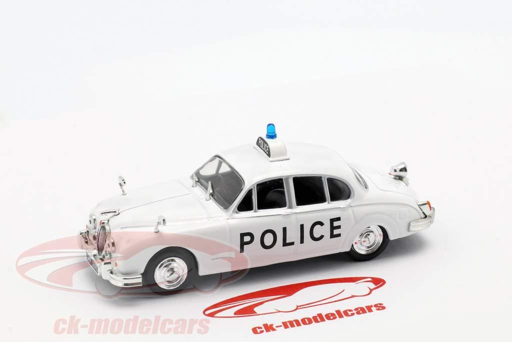 Jaguar MK II política blanco en ampolla 1:43 Altaya