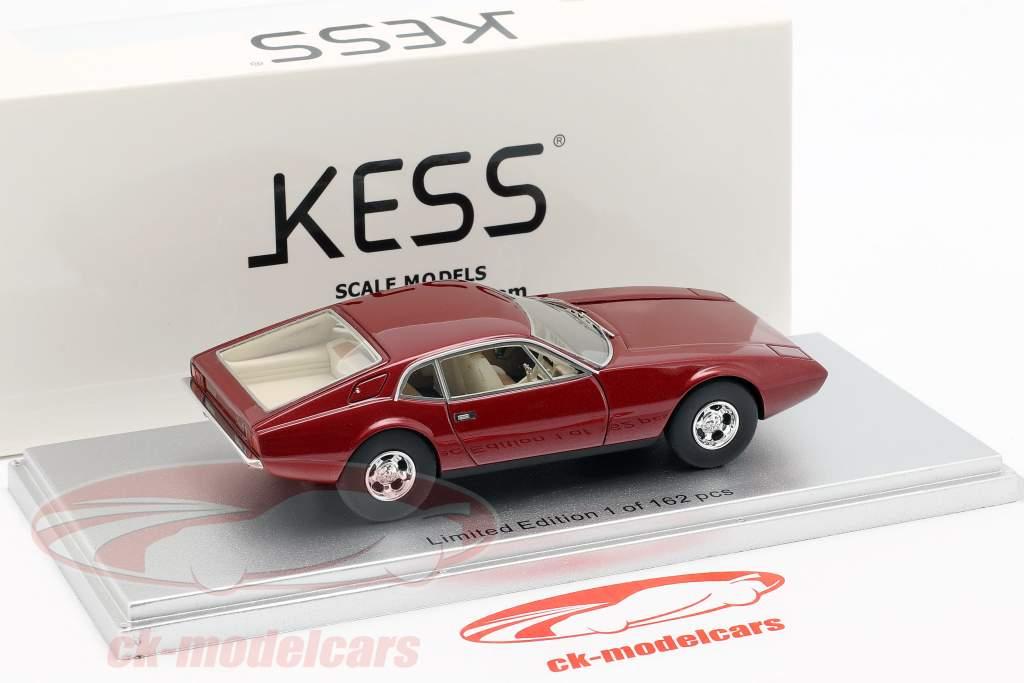 De Tomaso Zonda year 1971 dark red metallic 1:43 KESS