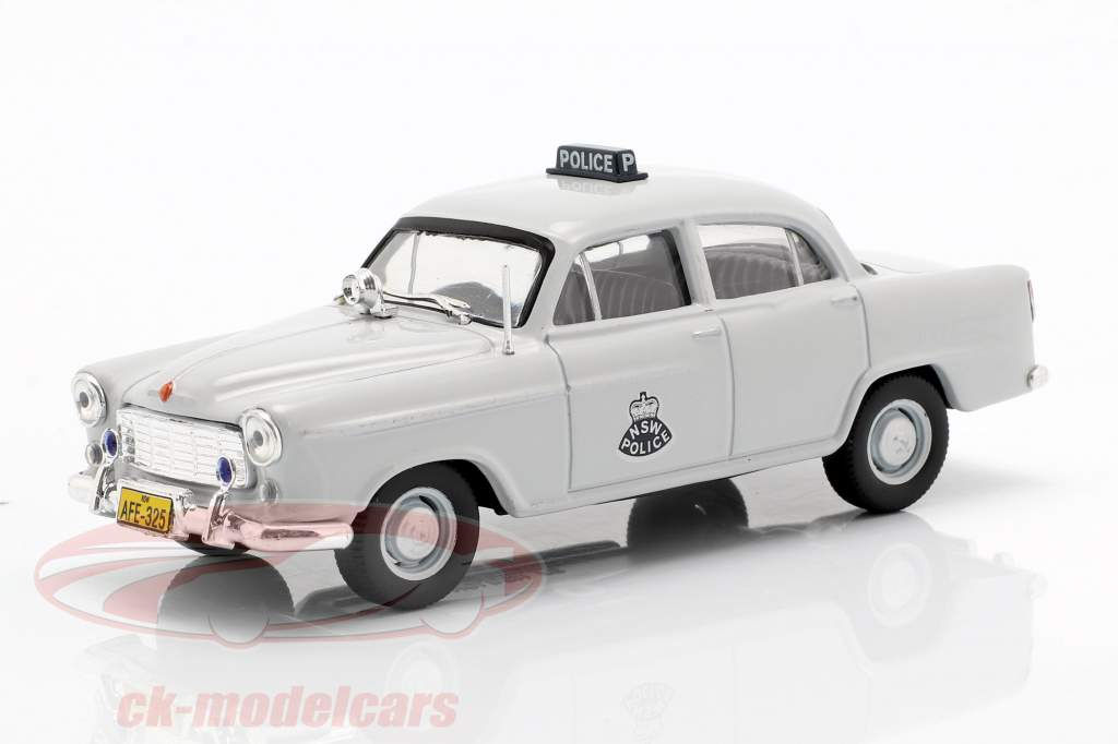 Holden FE NSW Police light grey in Blister 1:43 Altaya