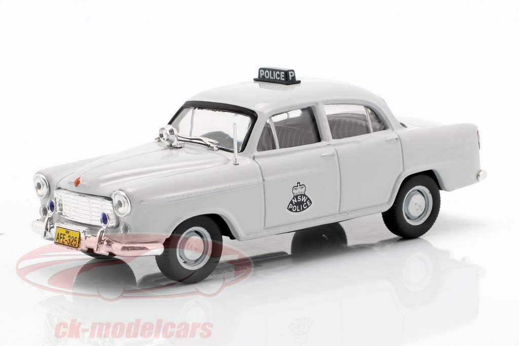 Holden FE NSW Police lumière gris en cloque 1:43 Altaya