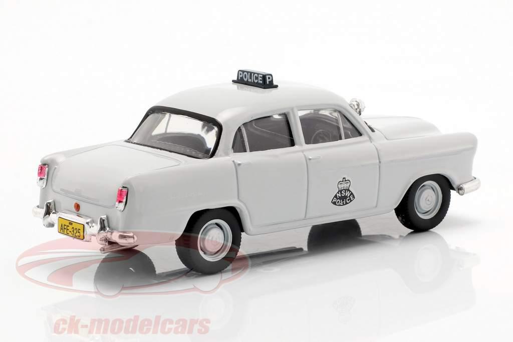 Holden FE NSW Police luz cinza em bolha 1:43 Altaya
