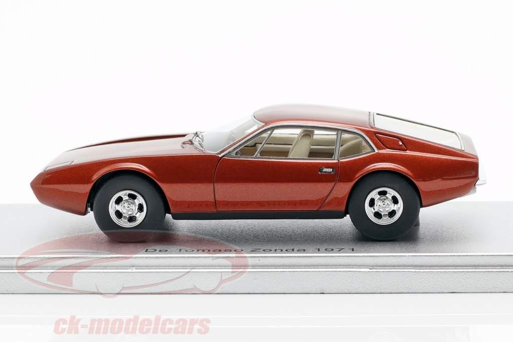 De Tomaso Zonda Baujahr 1971 bronze metallic 1:43 KESS