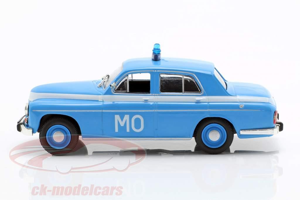 Warszawa 223 polícia azul em bolha 1:43 Altaya