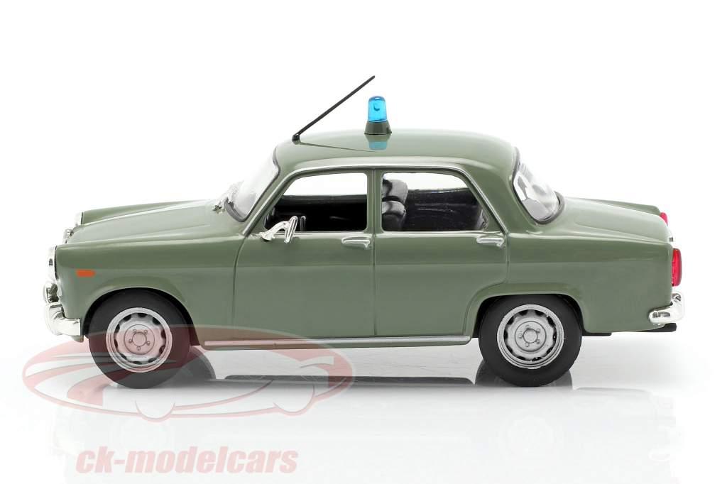 Alfa Romeo Giulietta politie olijf in blaar 1:43 Altaya