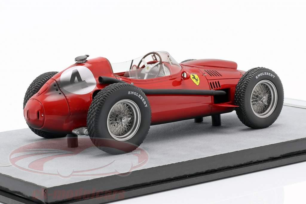 M. Hawthorn Ferrari Dino 246F1 End Race #4 Francia GP campeón del mundo F1 1958 1:18 Tecnomodel