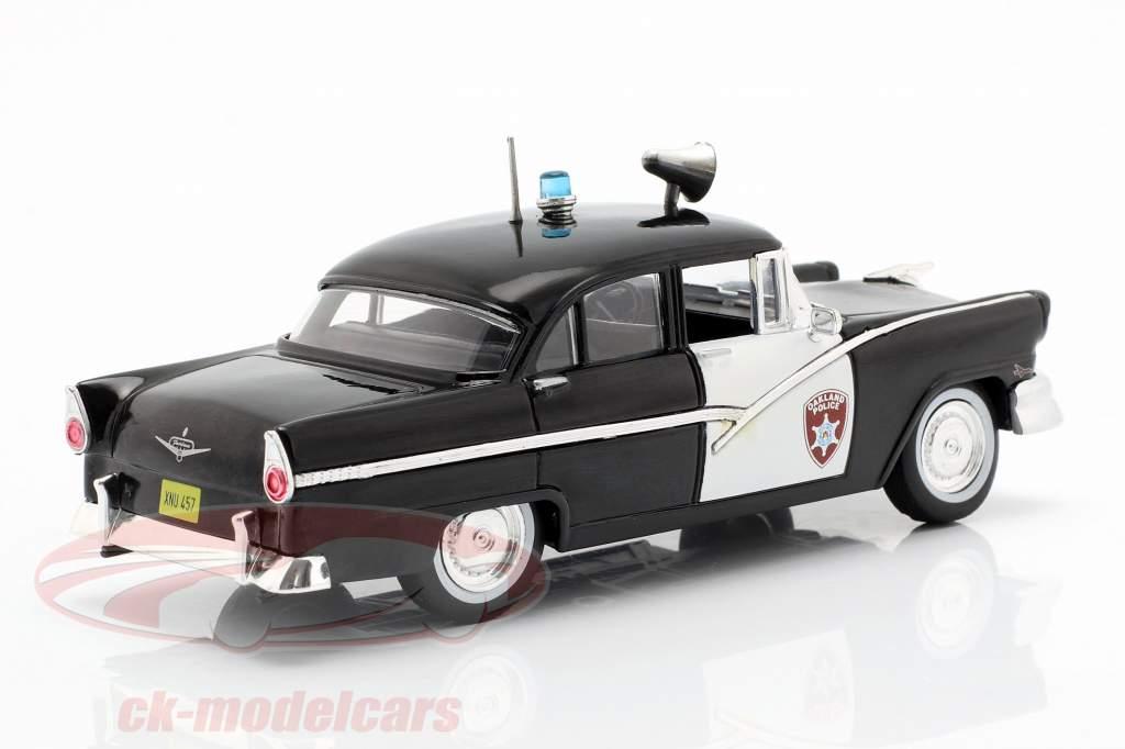 Ford Fairlane Oakland Police zwart / wit in blaar 1:43 Altaya