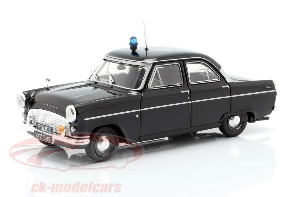 Ford Consul MK II policía negro en ampolla 1:43 Altaya