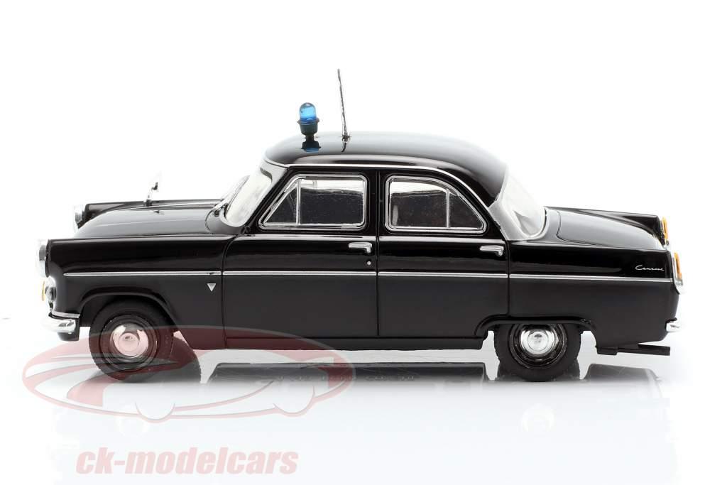 Ford Consul MK II police noir en cloque 1:43 Altaya