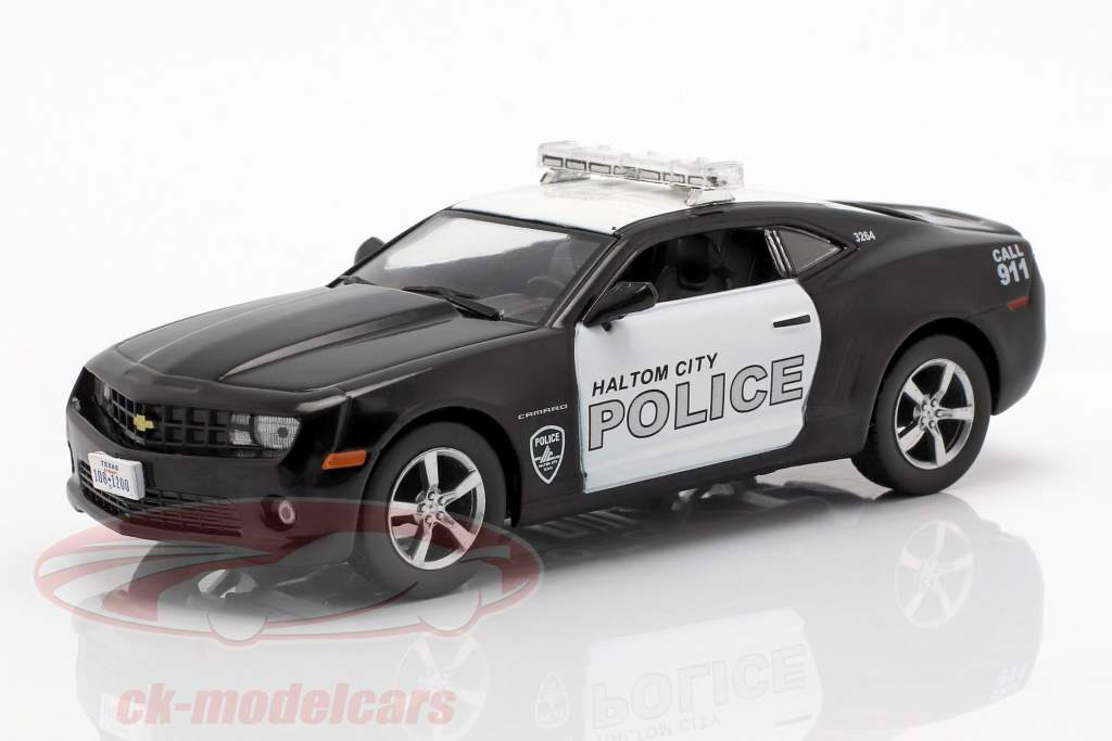 Chevrolet Camaro SS Haltom City policy black / white in Blister 1:43 Altaya