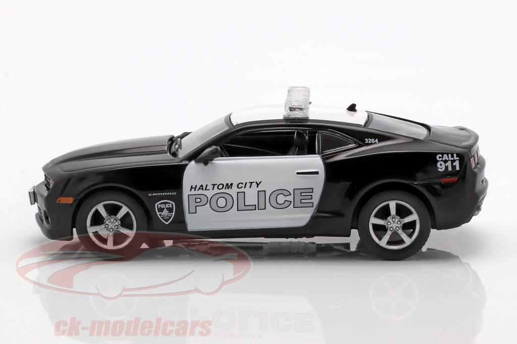 Chevrolet Camaro SS Haltom City politik sort / hvid i vabel 1:43 Altaya