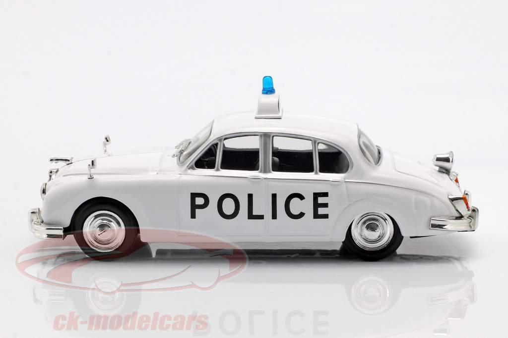 Jaguar MK II politica bianco in bolla 1:43 Altaya